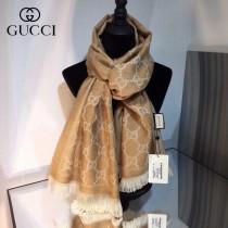 GUCCI頂級羊毛長巾 GG羊毛提花系列最值得入的經典款