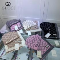 古奇Gucci原單帽子 圍巾套裝,重磅推薦新款針織圍巾