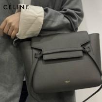 CELINE塞琳原單620-1 BELT MICRO 中號 粒面小牛皮斜挎手提手袋