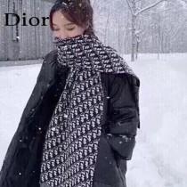 Dior迪奧羊絨圍巾 極品迪奧大膽創新力作