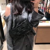 BV 寶緹嘉 9879-02 原單手工編織新款 新款編織腰包