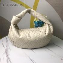 BV 寶緹嘉 6698-04  原單手工編織羊皮牛角包