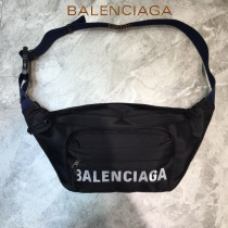 BALENCIAGA-04  巴黎世家 三聯特惠原單帆布胸包腰包 簡單輕便