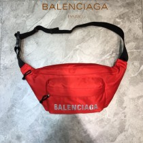 BALENCIAGA-03  巴黎世家 三聯特惠原單帆布胸包腰包 簡單輕便