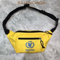 BALENCIAGA-05  巴黎世家 三聯特惠原單帆布胸包腰包 簡單輕便
