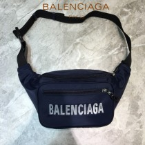 BALENCIAGA-07  巴黎世家 三聯特惠原單帆布胸包腰包 簡單輕便