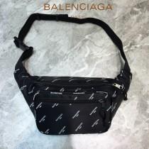 BALENCIAGA-08  巴黎世家 三聯特惠原單帆布胸包腰包 簡單輕便