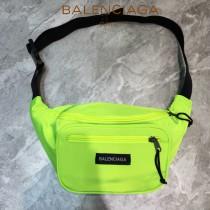 BALENCIAGA-012  巴黎世家 三聯特惠原單帆布胸包腰包 簡單輕便