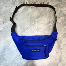 BALENCIAGA-011  巴黎世家 三聯特惠原單帆布胸包腰包 簡單輕便
