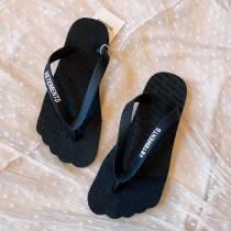 VETEMENTS 情侶款35-43 圓頭款趾型 沙灘拖 網紅爆款人字拖鞋 夏日出街必備