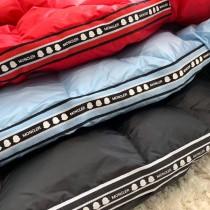 Moncler蒙口Moncler三色織帶童裝羽絨服  內充優質90%白鴨絨