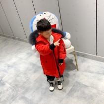 Canada goose加拿大鵝六色童裝長款羽絨服