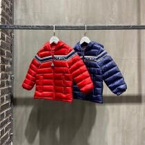Moncler蒙口兒童男女寶寶織帶Renald系列鵝絨輕薄系列羽絨服 專櫃同步款 尺碼:110-150