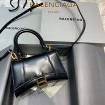 BALENCIAGA-01  巴黎世家原單爆款MINI號平紋沙漏包