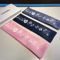 CHANEL香奈兒束發帶 飄帶款 可當小圍巾