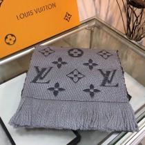 LV 路易威登 新款針織金銀字系列小圍巾 披肩