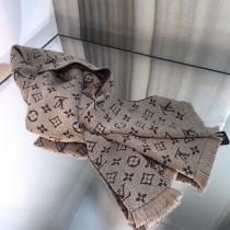 LV 秋冬專櫃羊絨針織長巾