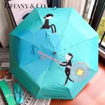 Tiffany蒂芙尼心鎖鑰匙系列自動傘雨傘