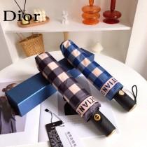 DIOR迪奧幾何格紋熱賣款全自動雨傘