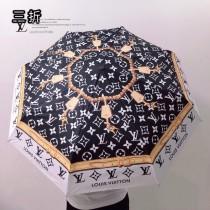 Lv路易威登 最新爆專櫃夏季新款全自動折疊晴雨傘