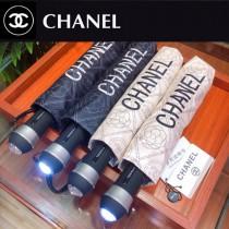 CHANEL 香奈兒亞太專櫃最新款山茶花全自動UV晴雨傘