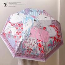 LV路易威登專櫃夏季新款自動雨傘遮陽傘
