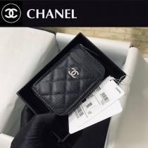 CHANEL 1650-02  香奈兒新款 拉鏈多層卡包