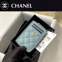 CHANEL 1650-03  香奈兒新款 拉鏈多層卡包