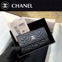 CHANEL81937 香奈兒 山茶花 belt bag 20新品 限量款 山茶花球紋牛皮零錢包卡包