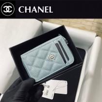 CHANEL 1650-04  香奈兒新款 拉鏈多層卡包