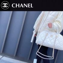 CHANEL AS2223-03  香奈兒 21早春度假系列最美旅行袋保齡球包