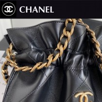 CHANEL AS2170-04  最新走秀款抽繩手提肩背包