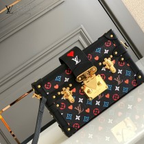LV原版皮 M57454  PETITE MALLE 手袋