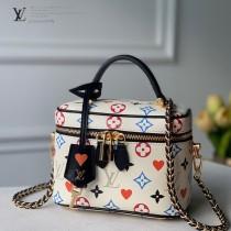 LV原版皮  M57458 Vanity 小號手袋化妝包