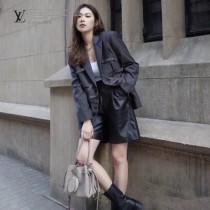 LV頂級原單 m57201-1 灰色 BELLA 手袋水桶包