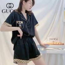 GUCCI古奇春夏新品  套裝睡衣2件套(短褲 短袖)