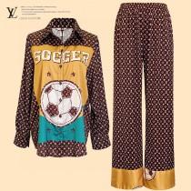 LV早春度假新品睡衣風襯衫套裝 原單品質睡衣新款
