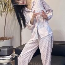 LV 原單品質睡衣新款女款 早春度假新品睡衣風襯衫套裝