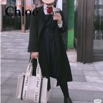 Chloe克洛伊原單大號Woody Tote Bag原單購物袋