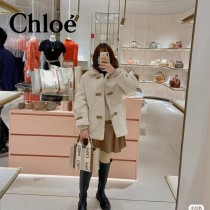 Chloe克洛伊原單小號Woody Tote Bag原單購物袋