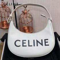 CELINE 賽琳 193952-1 正品級AVA TRIOMPHE全皮印花手袋復古腋下包lisa同款