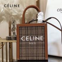 CELINE 賽琳 192082-08 原單春夏新色 CABAS托特包MINI迷你小號帆布購物袋