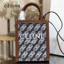 CELINE 賽琳 192082-010 原單春夏新色 CABAS托特包MINI迷你小號帆布購物袋