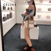 CELINE 賽琳 192082-01 原單春夏新色 CABAS托特包MINI迷你小號帆布購物袋