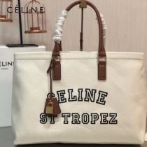 CELINE 賽琳 原单新款 Tote白色沙灘購物包