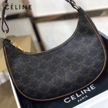 CELINE 賽琳 193952-04 正品級AVA TRIOMPHE復古老花手袋復古腋下包lisa同款