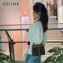 CELINE 賽琳 新款TEEN CABAS DE FRANCE標誌印花手袋