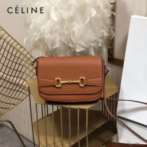 CELINE 賽琳 194143-4 CRECY 中號緞面牛皮革手袋