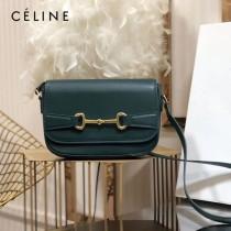 CELINE 賽琳 194143-1 CRECY 中號緞面牛皮革手袋