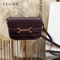 CELINE 賽琳 194143-3 CRECY 中號緞面牛皮革手袋